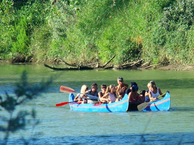 canoa parco maremma agriturismo poggio al vento