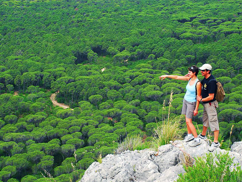 parco maremma trekking agriturismo poggio al vento