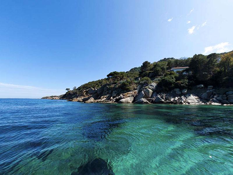spiagge e mare isola del giglio agriturismo poggio al vento