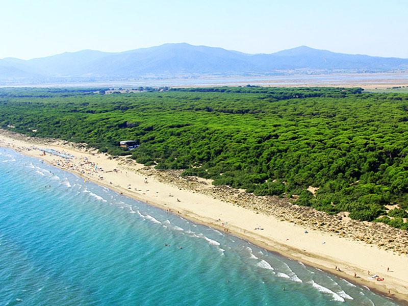 spiagge e mare maremma fiumara agriturismo poggio al vento